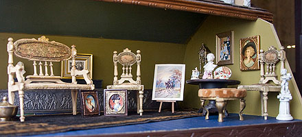 at the dollhouse museum